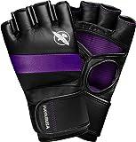 Hayabusa – Gants de boxe T3 MMA, de Kickboxing, d'entraînement, sac de frappe, 4 oz L violet
