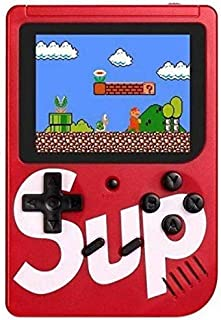 DIG 400 in 1 Super Handheld Game Console, Classic Retro Video Game, Colorful LCD Screen, Portable, Best for Kids ( Mix col...