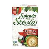 SPLENDA Naturals Stevia Sweetener: No Calorie, All Natural Sugar Substitute w/ No Bitter Aftertaste....