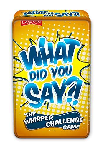Lagoon Group- What Did You Say The Whisper Challenge Game Cosa Hai Detto Il Gioco, Multicolore, 5648