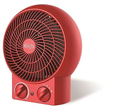 Foto di Argoclima Twist Red Termoventilatore Tradizionale da Tavolo, Rosso