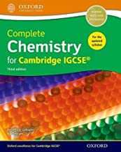 Complete Chemistry for Cambridge IGCSE Print Student Book 2014: Trusted, Comprehensive, and Revised (Cie Igcse Complete)