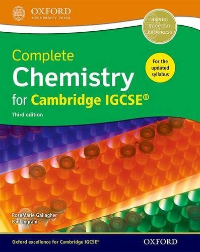 Download Complete Chemistry For Cambridge IGCSE®: Third Edition 