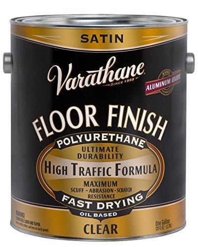 RUST-OLEUM 130231 Clear Satin Floor Finish