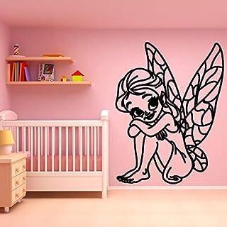 wZUN Cuento de Hadas de Dibujos Animados para niños Pegatinas de Pared decoración de la habitación de los niños Vinilo ext...