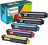 Do it wiser kompatibel Toner als Ersatz für Brother TN-241 TN-245 TN-242 TN-246 Brother MFC-9332CDW DCP-9022CDW MFC-9142CDN 9140CDN 9342CDW HL-3142CW 3152CDW DCP-9017CDW 9020CDW HL-3140CW (5er-Pack)