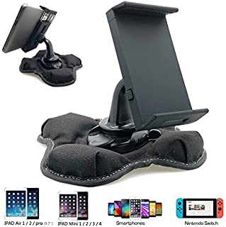 """Universal GPS Smartphone & Tablet Beanbag Dash Dashboard Friction Mount Holder for All Smartphone iPhone X 8 Plus 11 Pro XR XS MAX Galaxy S10 Note & 7-8"""" creen Tablets (iPad/iPad Mini Galaxy Tab E A"""