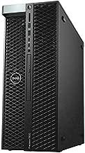 Dell Precision T5820 Workstation, Intel Xeon W-2133 6-Core 3.60GHz Processor, 64GB DDR4-2666MT/s RDIMM Memory, 1TB NVMe PCIe SSD, 2TB 7200RPM HDD, NVIDIA Quadro K1200 4GB GDDR5, Windows 10 Pro