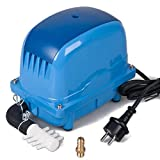 AquaForte Energiesparende Luftpumpe AP-100, 106 l/min (bei 1 m), Max. Druck: 3,8 m, 65 W