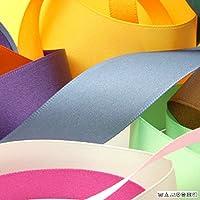 FUJIYAMA RIBBON サテンリボン 両面ポリエステル 6mm レッド 9.14M巻 手芸 服飾 ラッピング