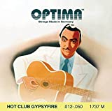 Optima Strings »Hot Club Gypsyfire 1737 M - String Set« Cordes Pour Guitare Acoustique - 012/050