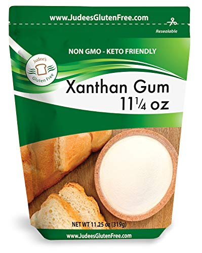 Judee's Xanthan Gum 11.25 oz - Non GMO, Keto Friendly, Gluten & Nut Free Dedicated Facility. Low Carb thickener for protein shakes, smoothies, gravies, sauces. Essential for gluten free baking.