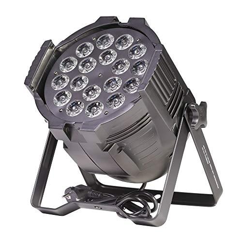ETEC LED PAR 64 18x10W RGBWA 5in1 Scheinwerfer Floorspot