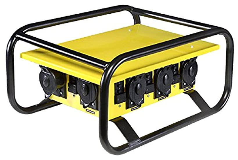 CEP Construction Electrical Products 8706GU 6 Outlet 50-Amp Single Phase Power Box