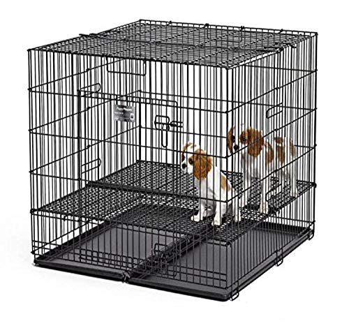 Midwest Homes Puppy Playpen Crate - 236-10 Grid & Pan Included