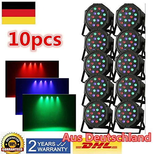 10 St RGB LED 5mm lampeggio discoflasher RESISTENZE