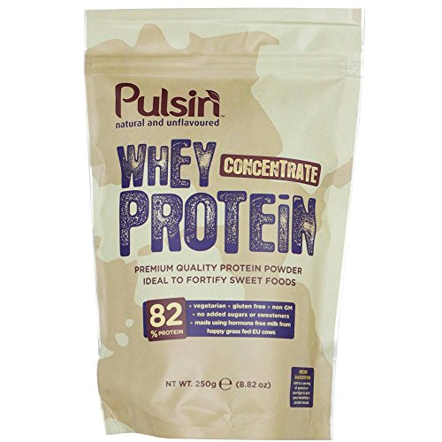 Pulsin - Natural and Unflavoured Whey Concentrate Protein - 250g (Case of 6)