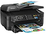 Epson Workforce WF-2660 All-in-One Wireless Color Printer with...