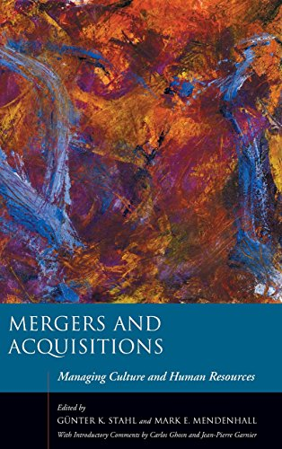 Mergers and Acquisitions: Managing Culture and Human Resources (Stanford Business Books (Hardcover))
