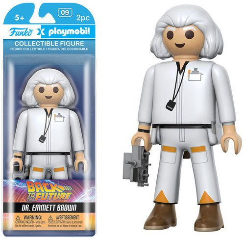 FUNKO PLAYMOBIL: Back To The Future - Doc