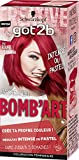 got2b color - Coloration Cheveux - Bomb'Art - Coloration Semi Permanente Cheveux - ROUGE 092 L'Endiablée - 50 ml