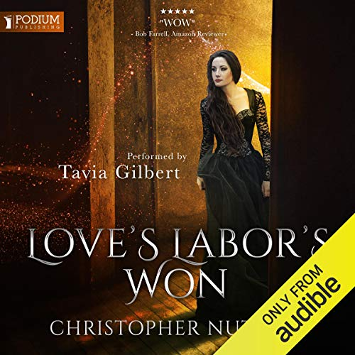 Love's Labor's Won audiobook cover art