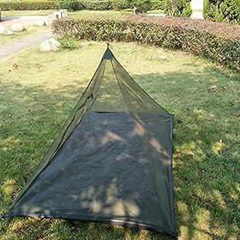 LOVOICE 220 120 100cm Pêche en Plein air Triangle Mosquito Net Tente de Porte à Fermeture à glissière Portable Voyage Unique Camping Moustiquaire Moustiquaire Net avec Mosquito Net de Camping