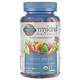 Garden of Life mykind Organics Men's Gummy Vitamins Multi Berry, 120 Count