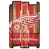 Wincraft NHL Schild aus Holz DETROIT RED WINGS Holzschild Wood Shield Fence -