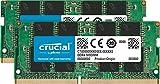 Crucial Memory Kit with 16GB (2x8GB) DDR4 PC4-21300 2666MHz SR x8 SODIMM Memory (CT2K8G4SFS8266) Compatible with HP EliteDesk 405 G4 Mini, 705 G4 Mini, 705 G5 Mini