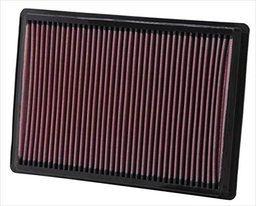 K&N 33-2295 Filtre à Air du Moteur: Haute Performance, Premium, Lavable, Filtre de Remplacement, Plus de Pouvoir, 2004-2010 (Challenger, Charger, Magnum, 300, 300C)