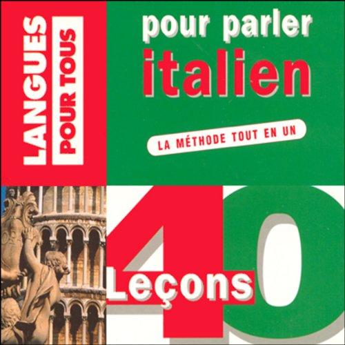 Couverture de 40 leçons pour parler italien