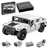 KEAYO Technik Auto Modell für Hummer H2, CADA C61027W, Technik Geländewagen Klemmbausteine Bauset Kompatibel mit Lego Technic