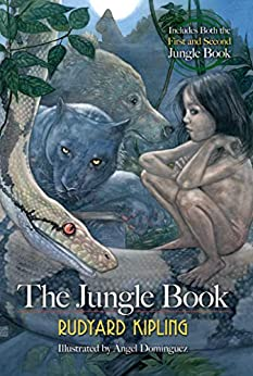 The Jungle Book by [Rudyard Kipling, Ángel Domínguez]