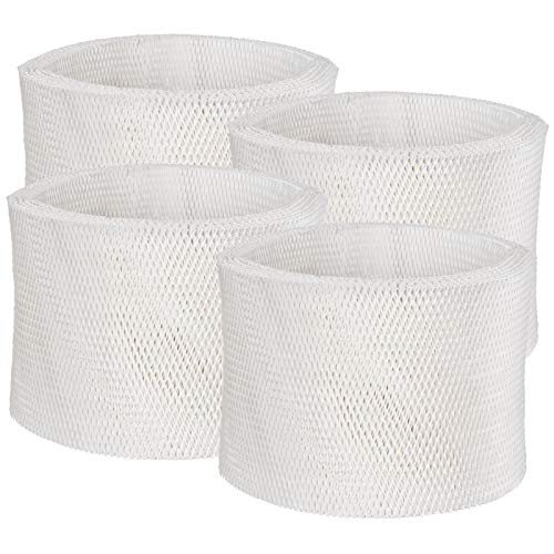Future Way Humidifier Wicking Filters Compatible with Honeywell HC-14, HC-14N, HC-14V1, Humidifier Filter E, HCM6009, HCM-6011, HEV680, HEV685, 4 Packs