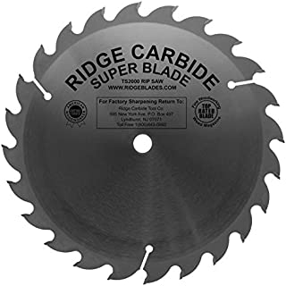 """TS2000 Heavy Duty 10"""" 24 Tooth Rip Table Saw Blade"""
