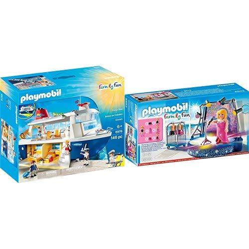 Playmobil 6978 - Kreuzfahrtschiff & 6983 - Disco mit Liveshow