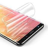 RIWNNI [3 Pezzi Pellicola Protettiva per Samsung Galaxy S9 Plus, Ultra Sottile Morbido TPU Pellicola Copertura Completa Protezione Schermo Senza Bolle per Samsung Galaxy S9 Plus - Trasparente