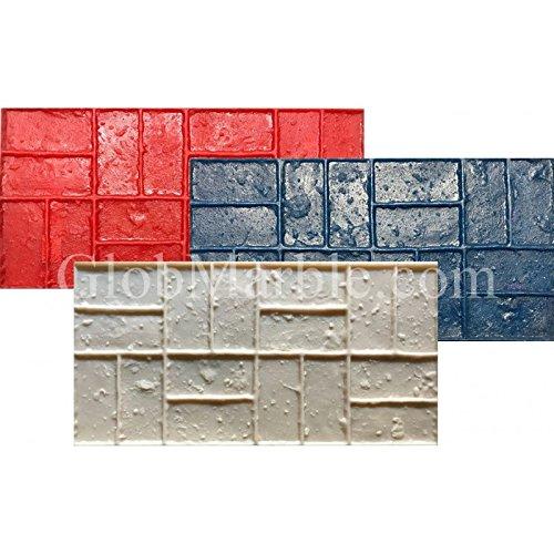 11 Wood Plank Concrete Stamp Set 5 Pieces Wood Texture Stamp Mat SM 5300 S