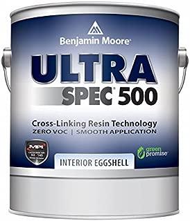 Benjamin Moore Ultra Spec 500 Interior Paint - Eggshell Finish (Gallon, White)