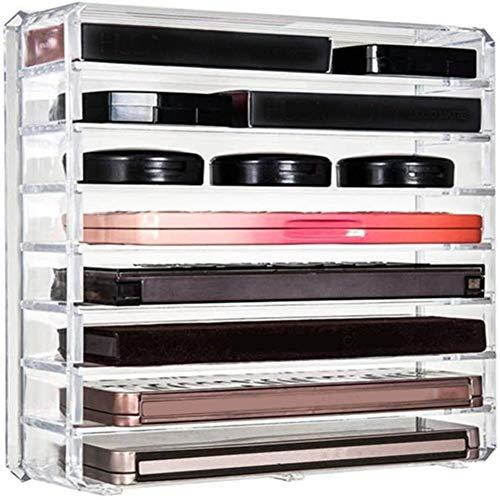 WFWUK Boite de Rangement Maquillage Organisateur Maquillage Support De Parfum Acrylique De Stockage Rangement Maquillage Boîte Stand Rangement Palette Maquillage b