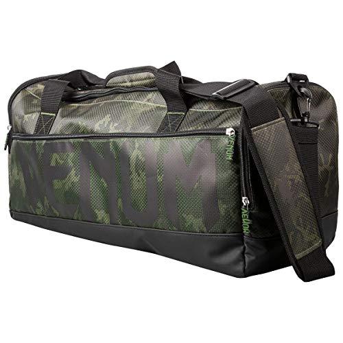 Venum Unisex-Adult Sparring Sporttasche, Green Camo/Black, Einheitsgröße
