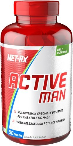 MET-RX ACTIVE MAN MULTIVITAMIN 90TABS by MET-Rx