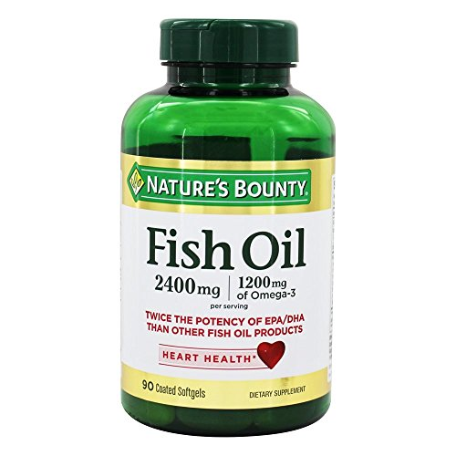 Twice the Potency of EPA/DHA Than Other Fish Oil Products 1200 mg of Omega-3 per serving Odor-Less, Coated to minimize fish burps