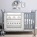 Lambs & Ivy Family Tree Pink/Gray Owl 6-Piece Nursery Baby Crib Bedding Set