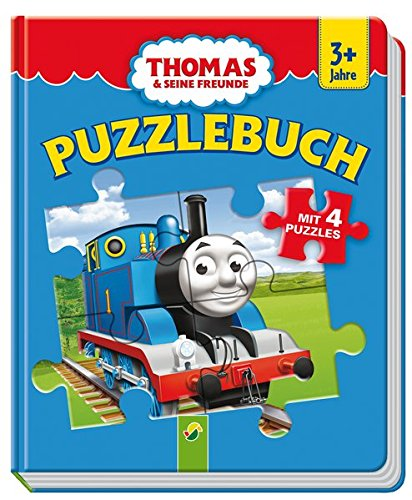 Puzzlebuch Thomas und seine Freunde: Mit 4 Puzzles