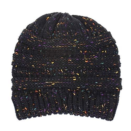 YQHWLKJ Schachtelhalm Mütze gestrickt warmes Futter Mütze 100% Acryl Hüte für...