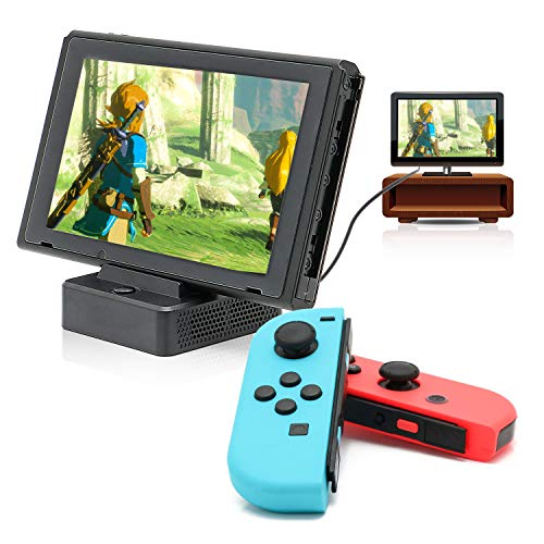 HDMI Dock for Switch, TV Dock for Switch, Compact Switch to HDMI Dock, Replacement Dock for Switch with USB Type C Power Input Port, HDMI Video Port and USB 3.0 Data Port