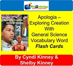 Apologia Exploring Creation With General Science Vocabulary Word Flash Cards (1st & 2nd Editions) PRINTED