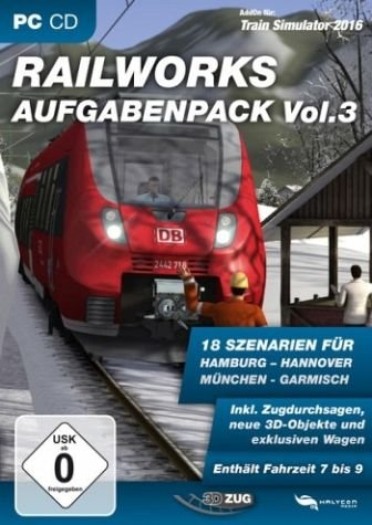 Train Simulator 2015 - Railworks Aufgabenpack Vol. 3 (TS 2014/15) (Add-On)